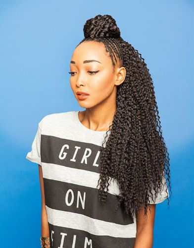 Urban Fresh Curly Bulk Braids  20 inches